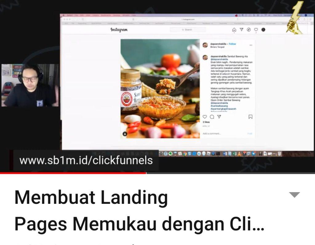 Kursus Internet Marketing SB1M di Kramat jati Jakarta Timur